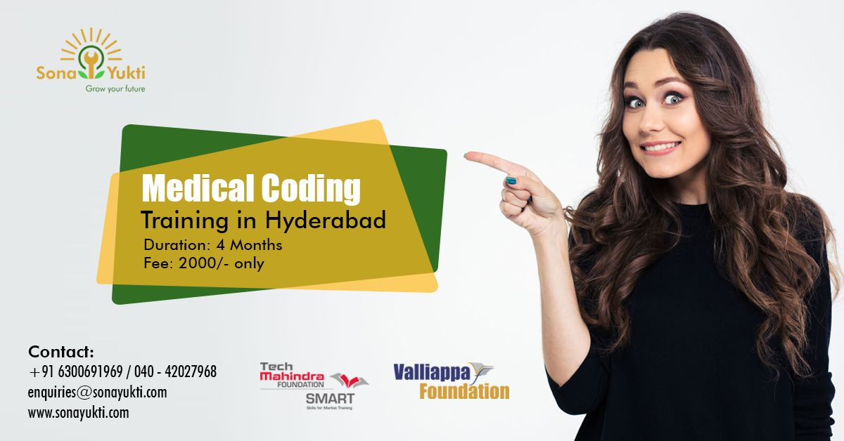 Enroll into Medical Coding Training by SonaYukti and