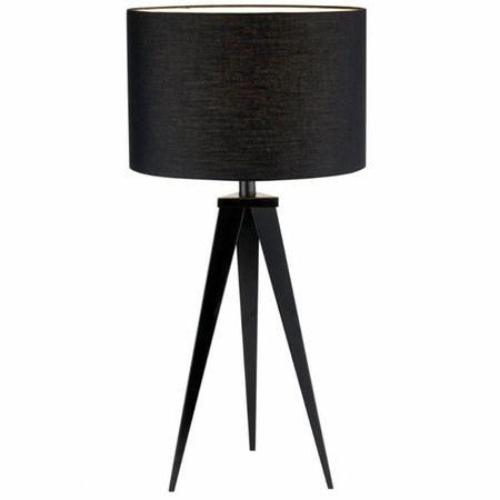 Director Table Lamp Black Table Lamps Modern Table Lamp Table Lamp Wood