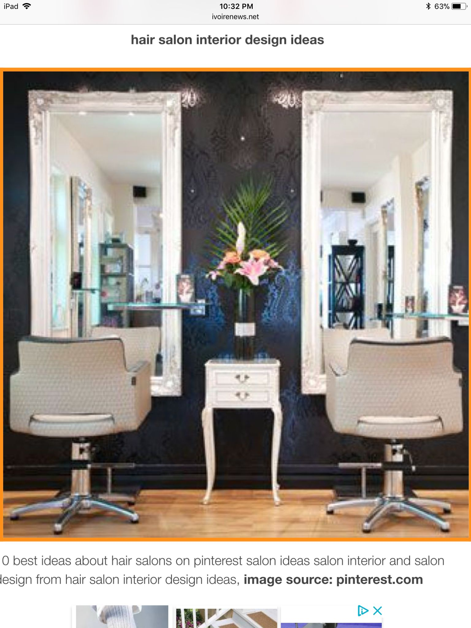 Salon mirrors framed mirrors salon interior design hair salon interior salon studio