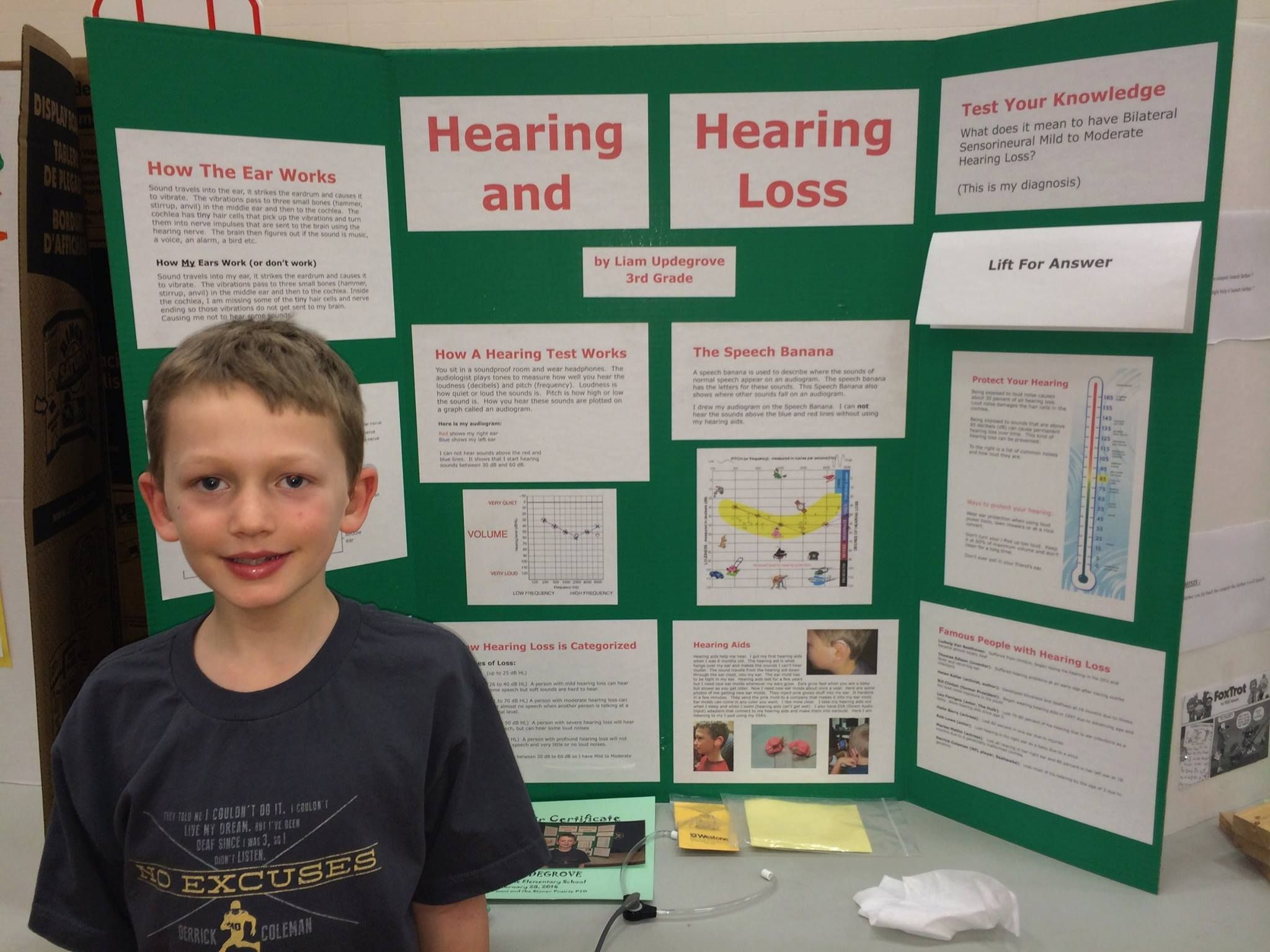 Hearing Loss Science Project