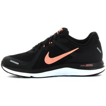 Chaussures Nike Fusion noires femme