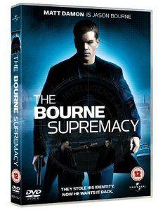 Dvd B139 Bourne Supremacy Jason Bourne Bourne Movies
