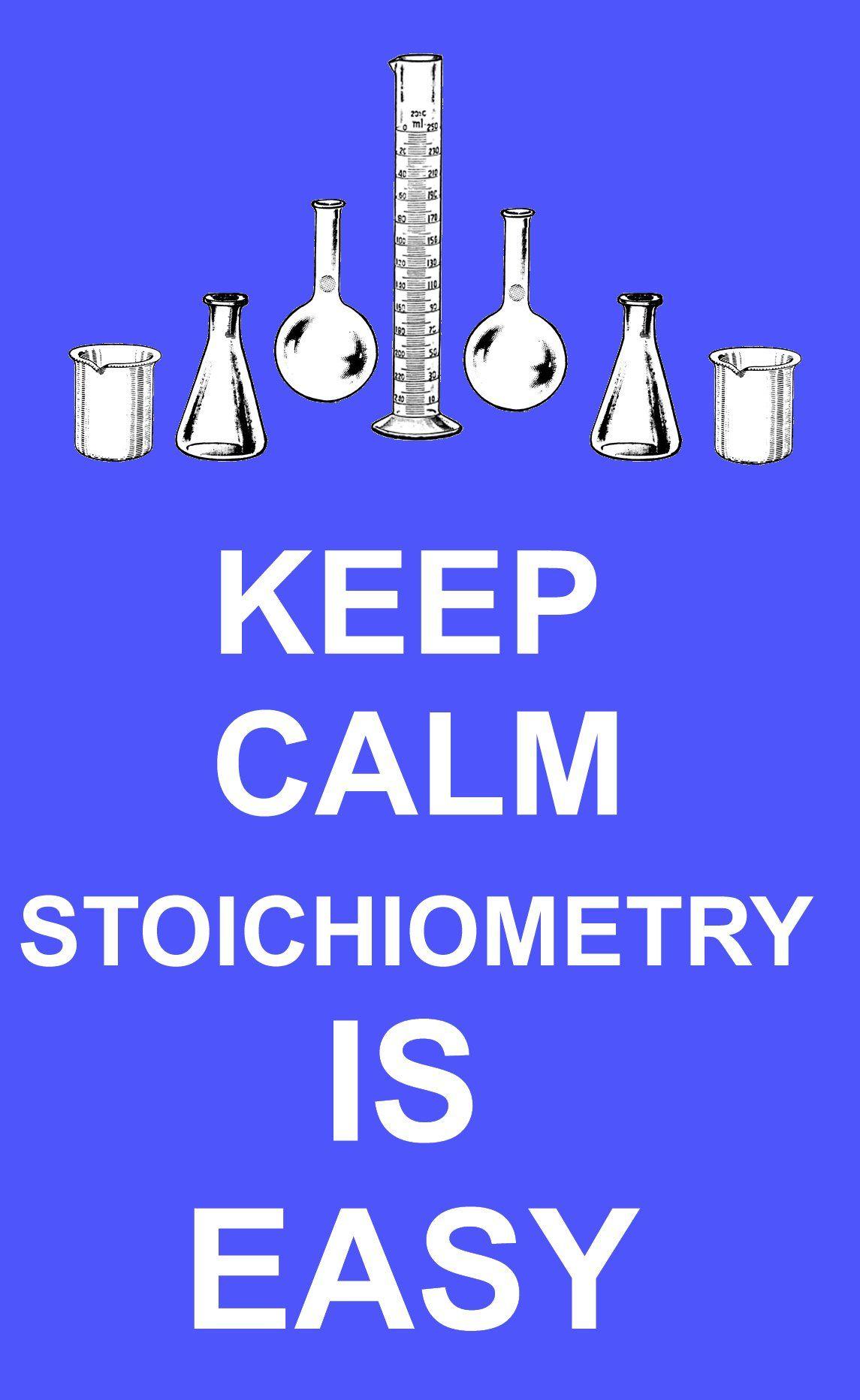 Stoichiometry Is Easy