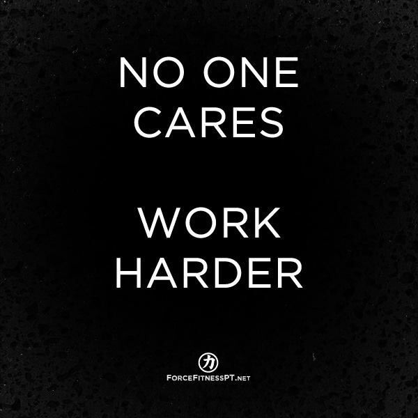 Hard werken, fitness, grind, geen excuses, niet klagen, beter zijn dan je excuses, motivatie, toewijding, discipline, doelen, prestatie,