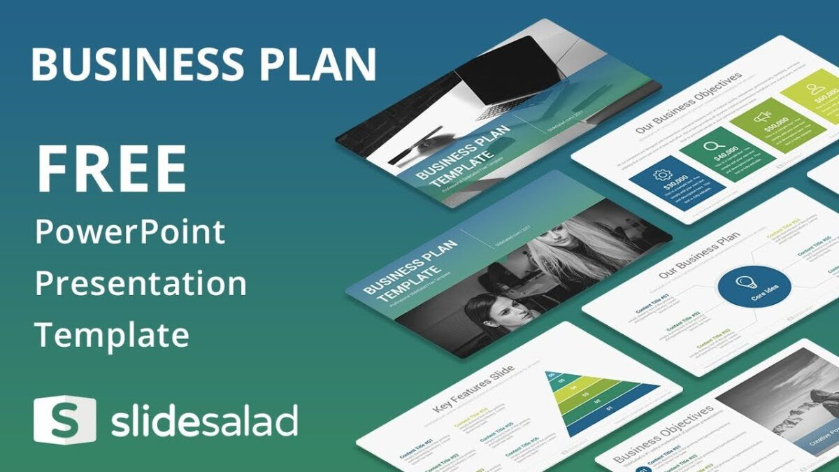 Powerpoint Business N Template Free Design Slidesalad Nulled For Business Car Business Plan Presentation Powerpoint Template Free Simple Business Plan Template