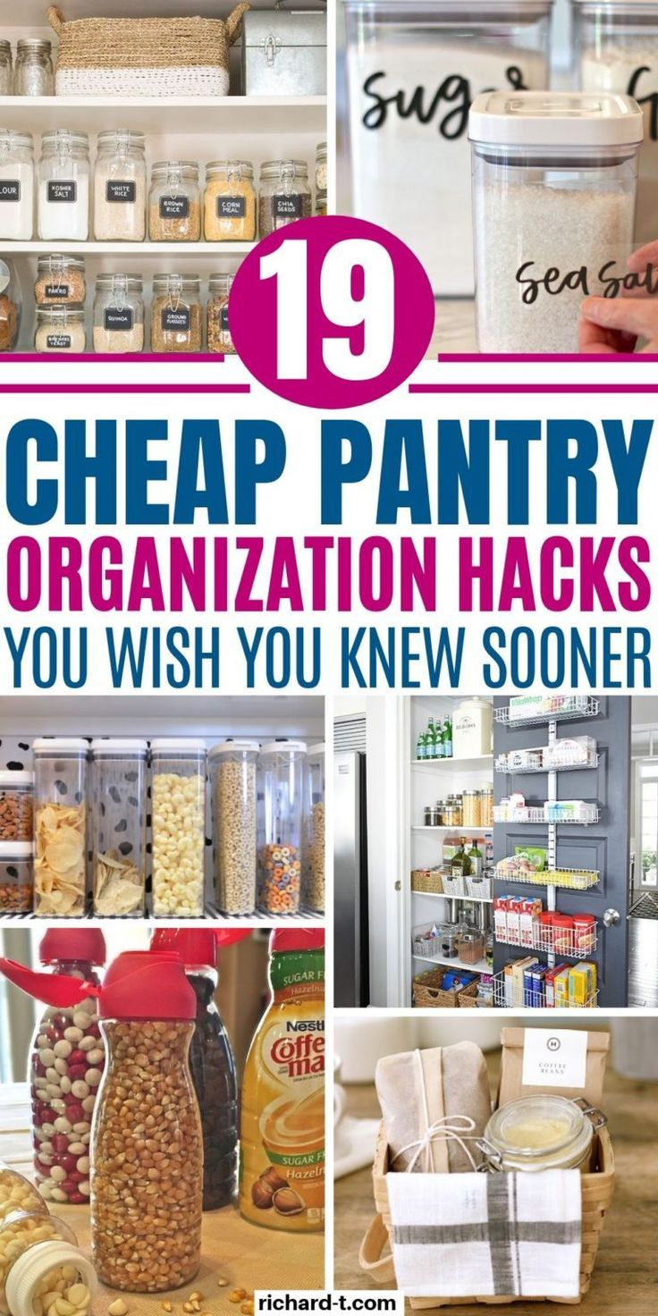 19 Pantry Organization Ideas That'll Blow Your Mind