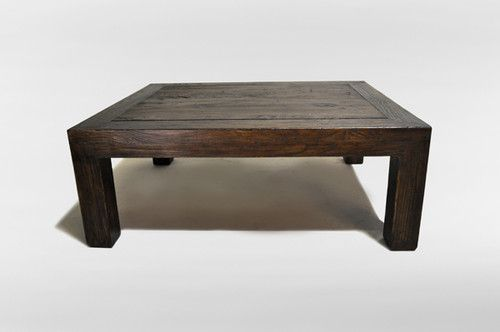 Chinese Solid Elm Wood Coffee Table Eclectic Coffee Tables