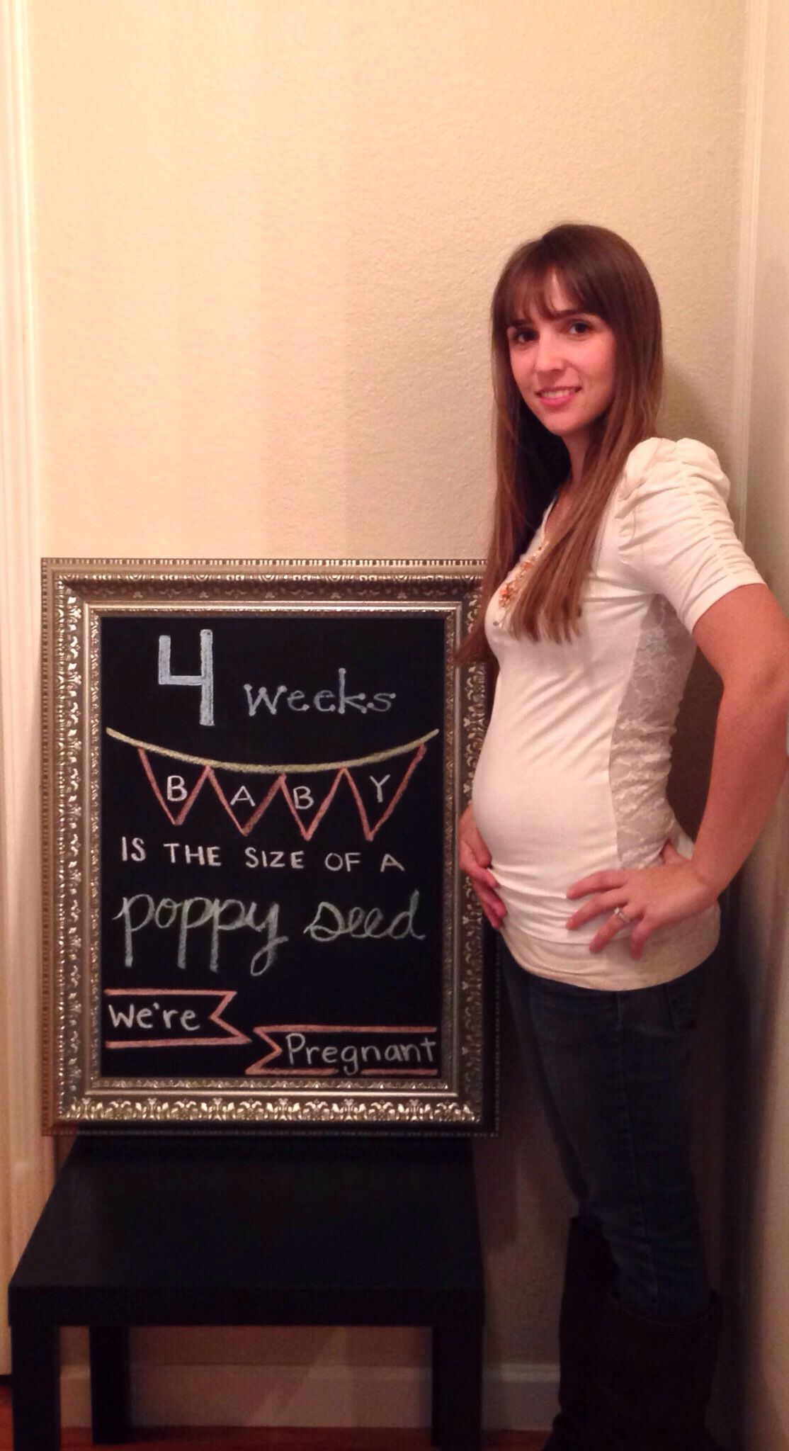 4 week baby bump | Pregnancy | Pinterest | Baby bumps ...