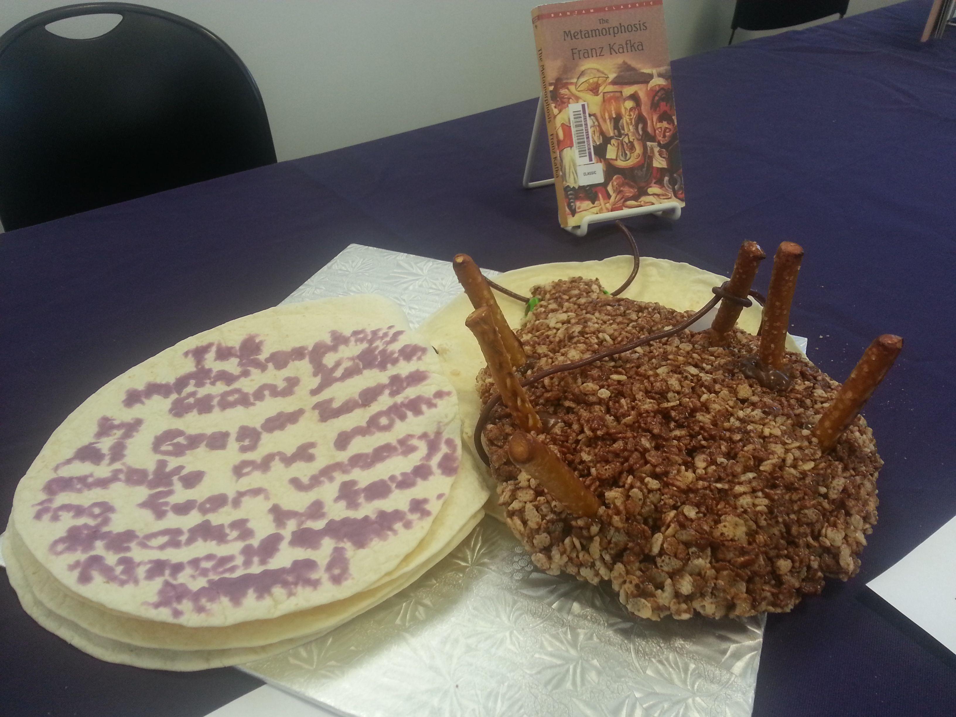 Resultado de imagen de the metamorphosis cake