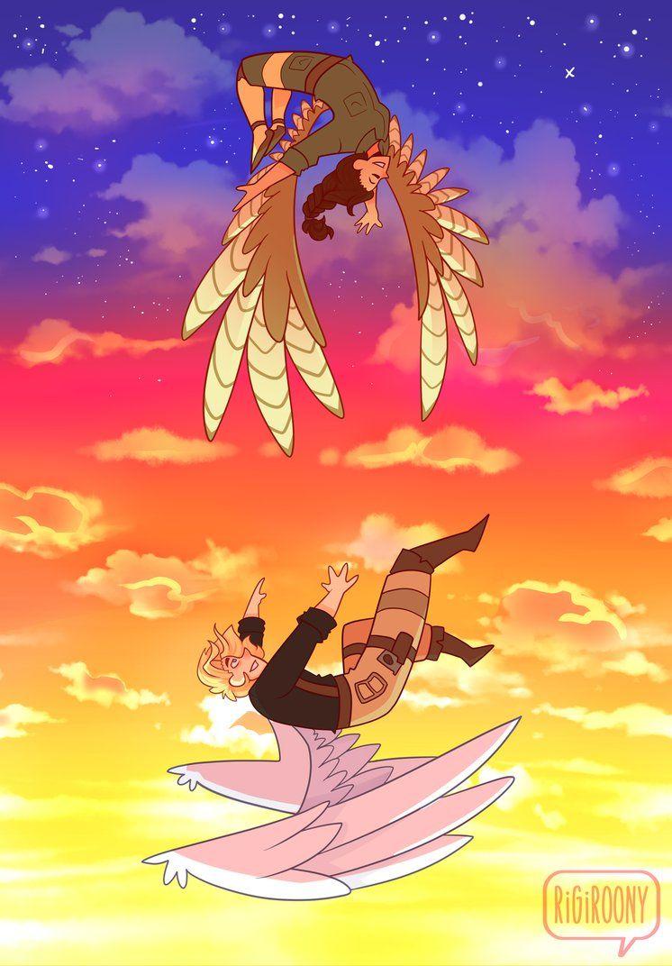 Flying High By Rigiroony Wings Art Fly Drawing Wings Sketch