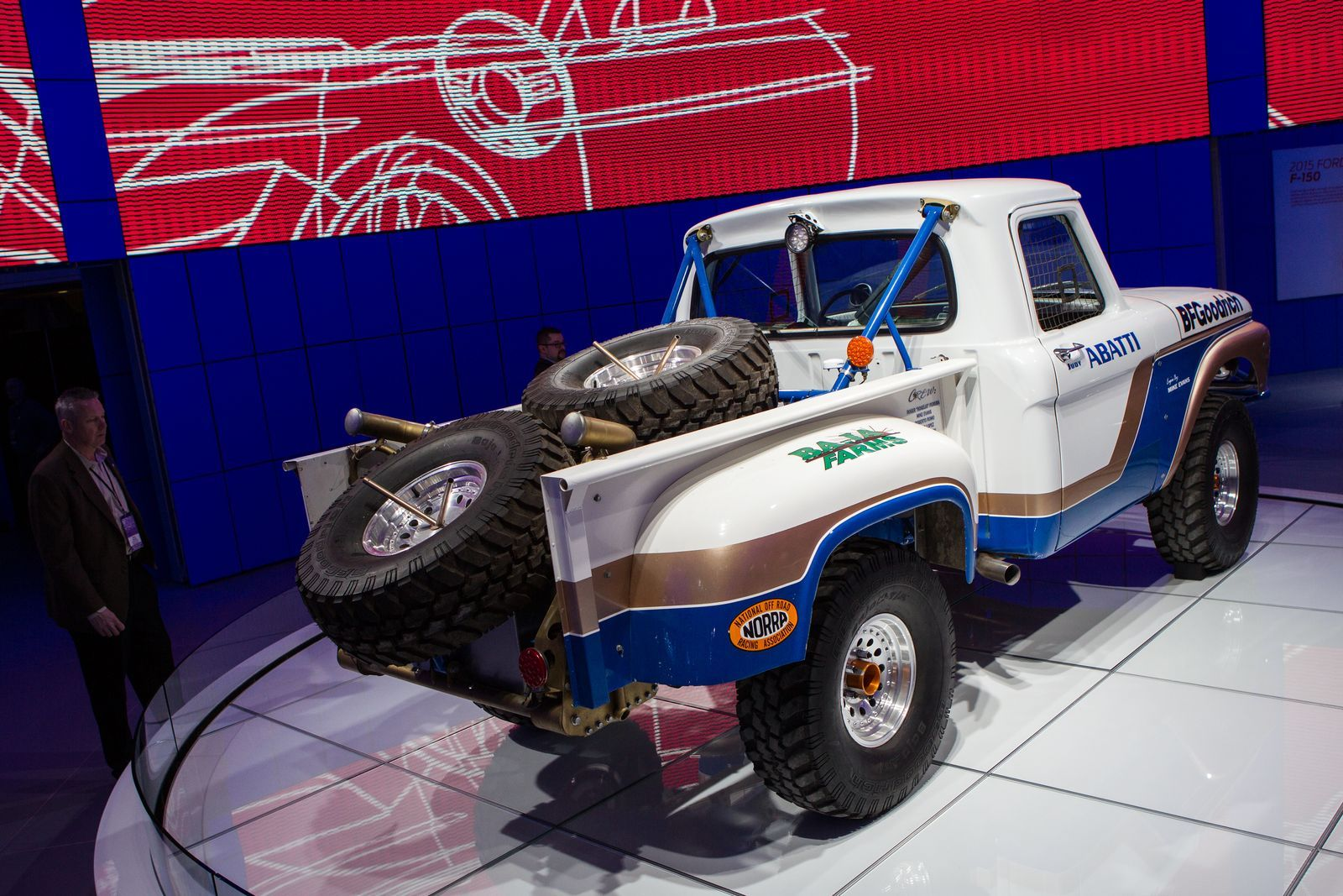 Exfarm truck is the baddest pickup at the Detroit show in