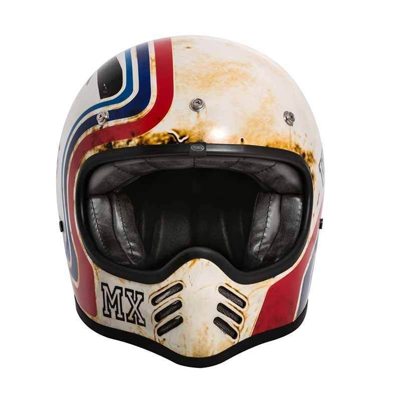 Premier Trophy Mx Btr 8 Bm Ece Retro Bike Helmet Motorcycle Helmets Vintage Helmet