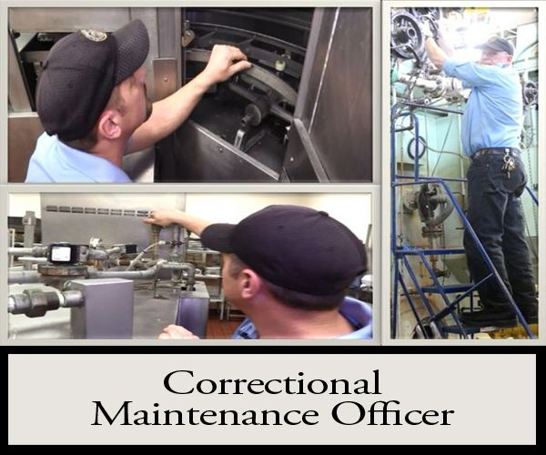 Enhance your trade and career today! Correctional Maintenance