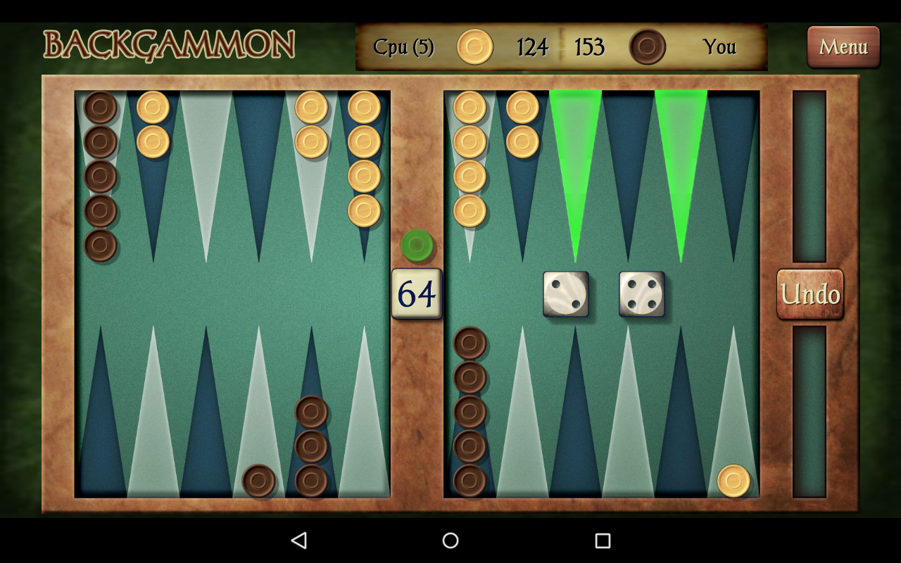 Play Backgammon Online For Free