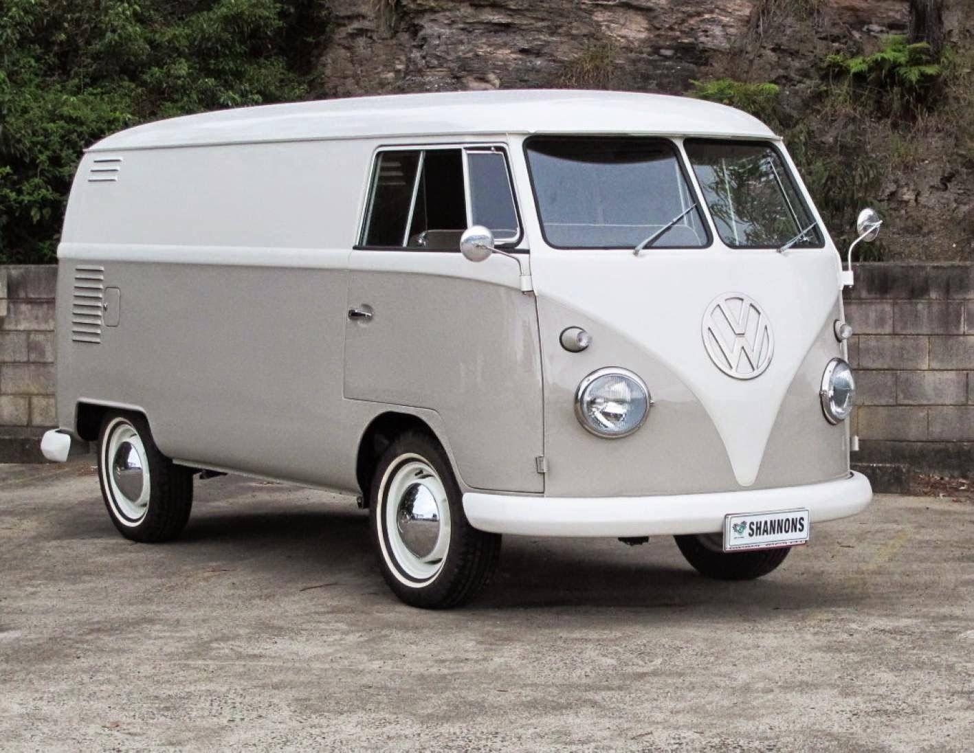 1962 Volkswagen T1 Panel (With images) Vintage vw van
