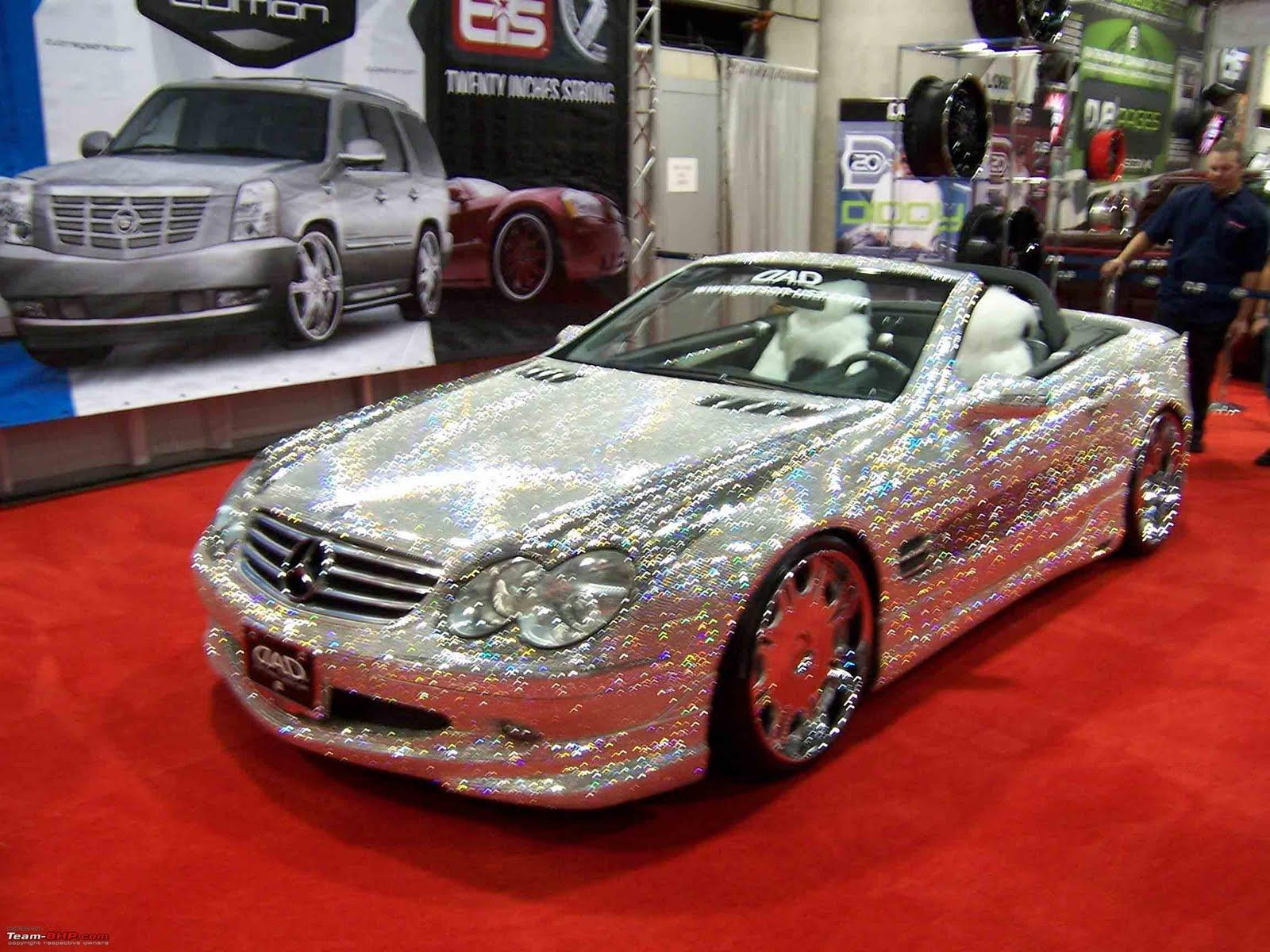 World S Most Expensive Car Mercedes With 300 000 Diamonds 4 8 Million Just To Touch It