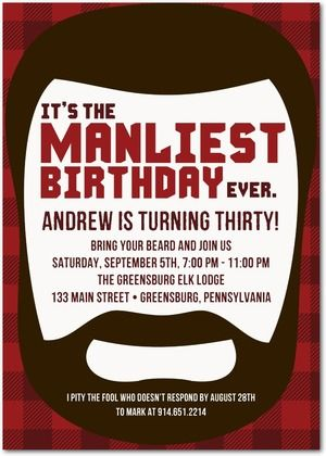 Manliest Beard Party Why Not Come Celebrate Your Manly At PowerPlay Adult Birthday Kansas City