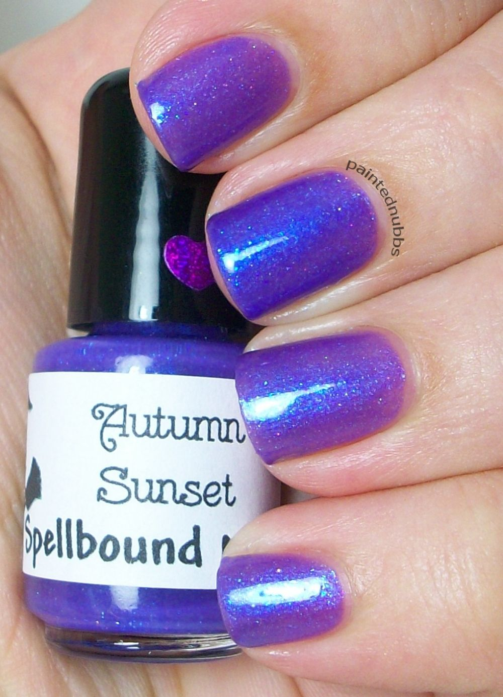 Autumn Sunset Is A Purple To Blue Shift Polish With