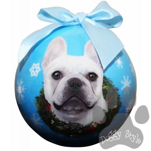 French Bulldog Shatterproof Dog Breed Christmas Ornament | Trees ...