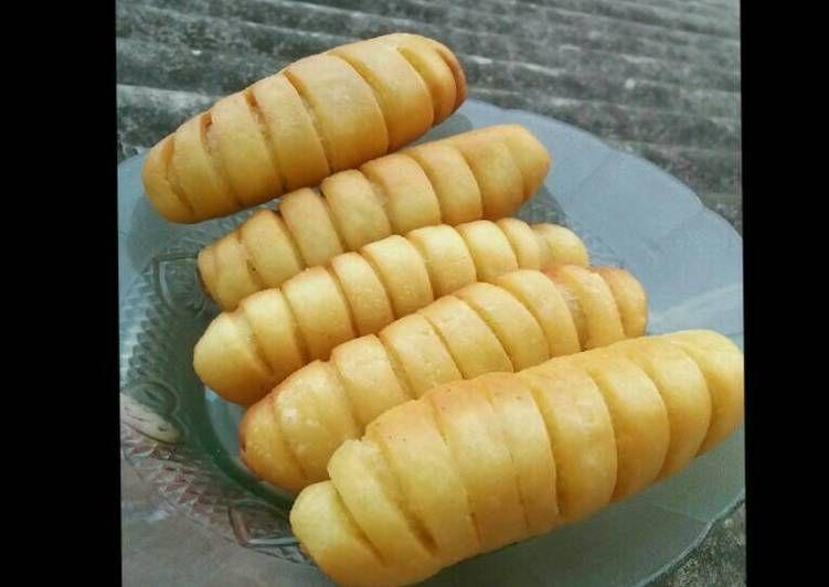 Resep Roti Goreng Isi Pisang Coklat Oleh Rizka Khomsyafitri Resep Roti Resep Roti Rotis