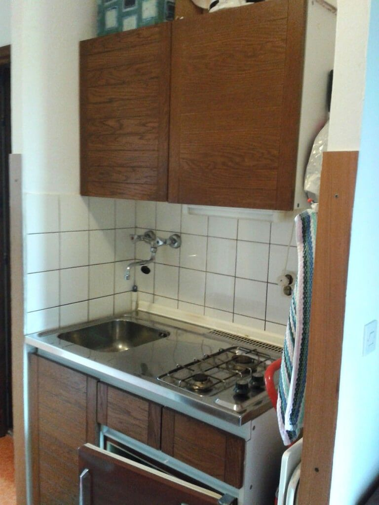 Favorit Früher war die Küche so klein, dass eine Spüle und Herd in einen NR09