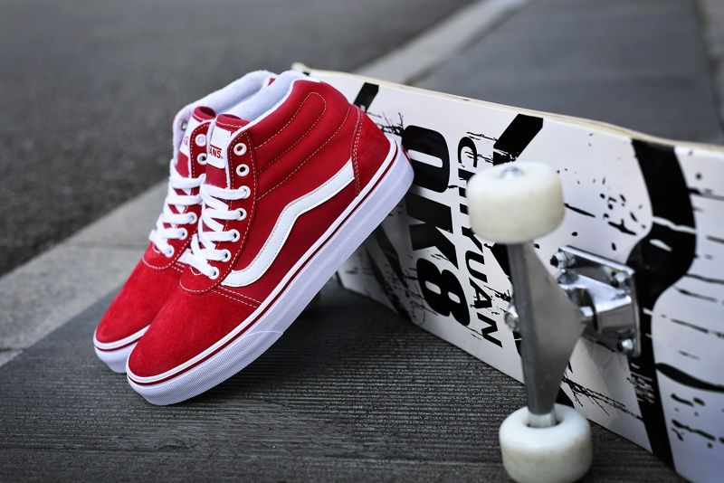 ee1f8641b38 Sea Y Vans Sri Lanka classic red men and women sports shoes shoes shoes  couple shoes VN0A36ENC4R pig eight Ge material purple security standard  model H13 ...