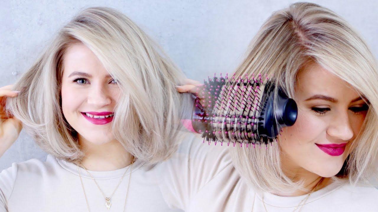 The Best Drugstore Hair Dryer Revlon Oval One Step Hair Dryer Volumizing Styler Youtube Hair Dryer Brush Hair Dryer Straight Hairstyles