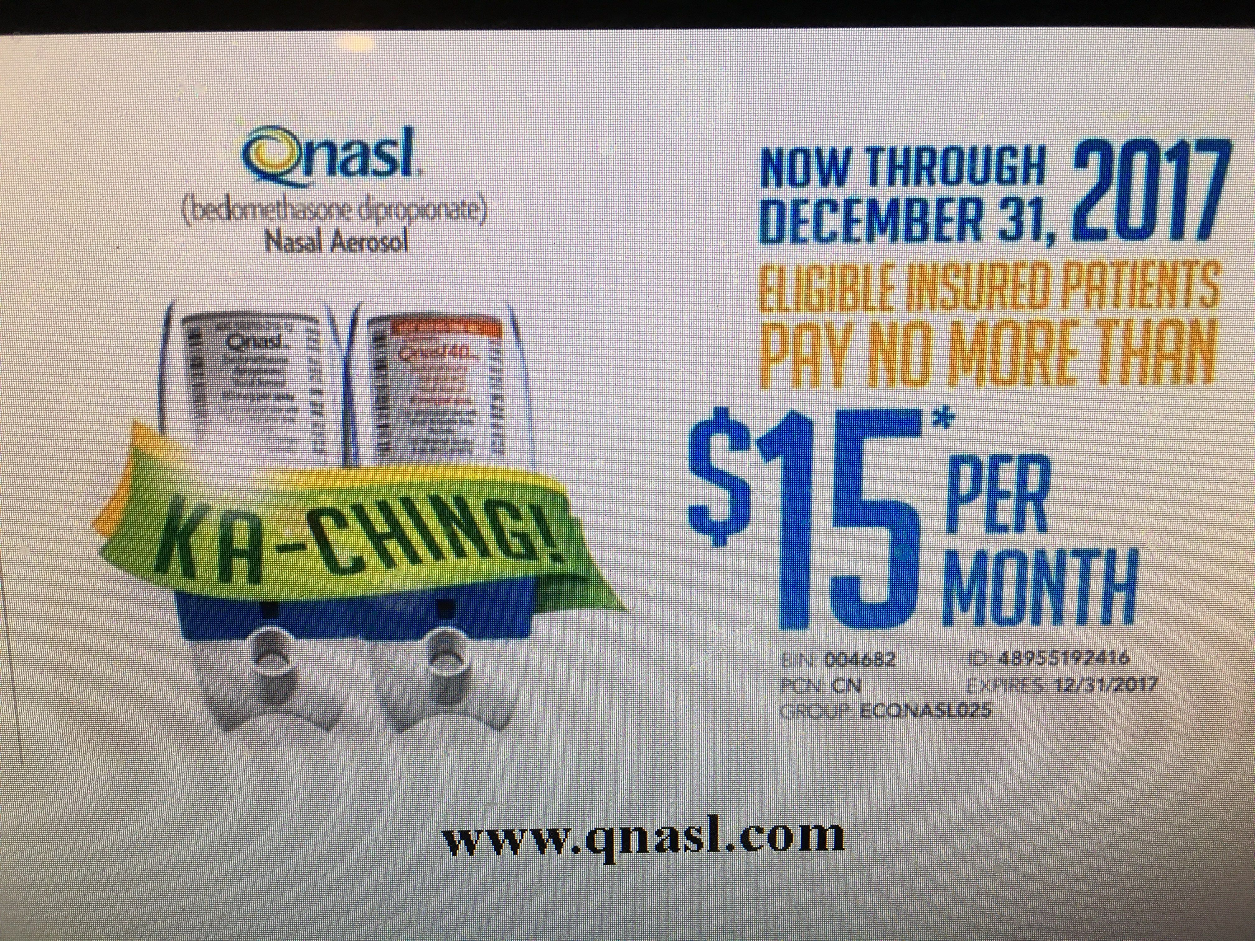 Qnasl Pay As Little As 15 Month Max Savings 90 Month