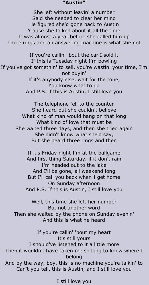 Favorite Blake Shelton Song Ever Ps If This Is Austin Or San Antonio By Blake Shelton Country Music Lyrics Blake Shelton Lyrics Worship Lyrics