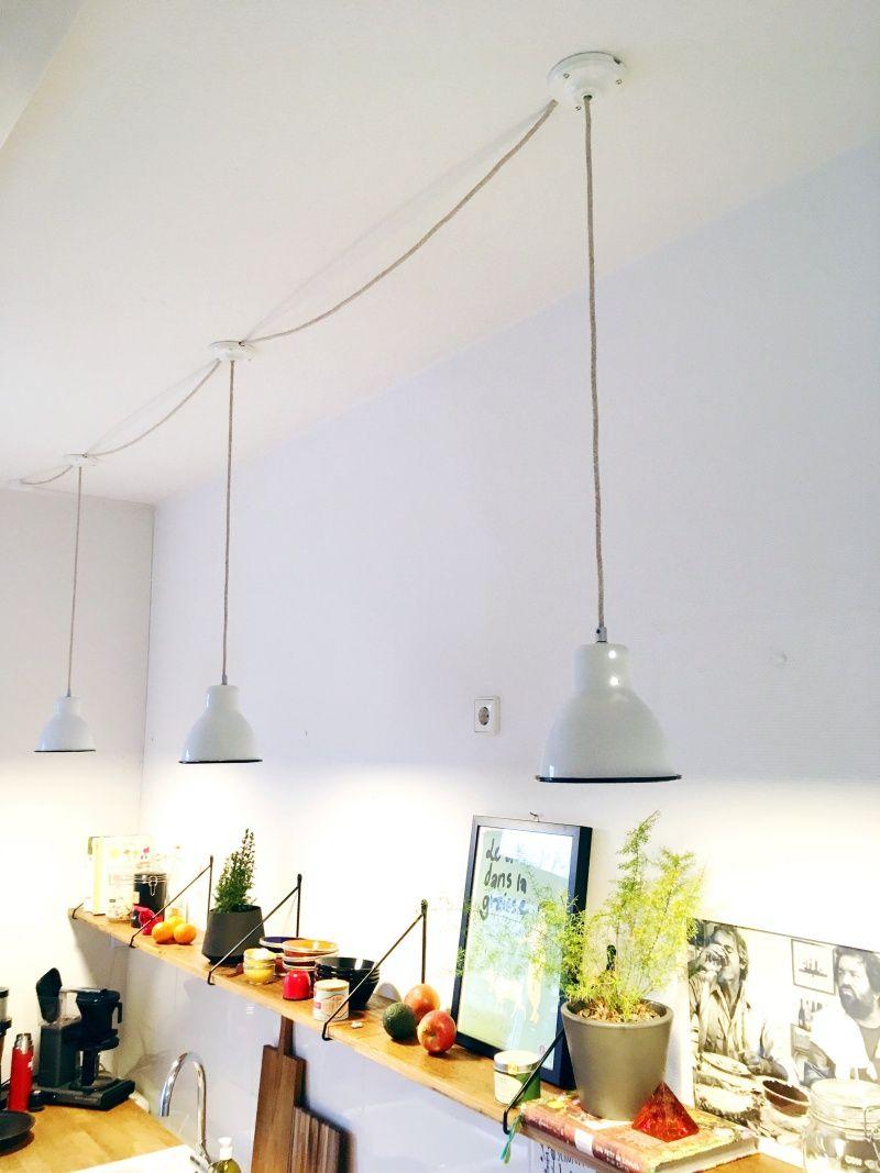 Eine Oder Mehrere Lampen An Einen Stromanschluss Mittels Affenschaukel Anschliessen In 2020 Lampe Lampen Lampe Anschliessen
