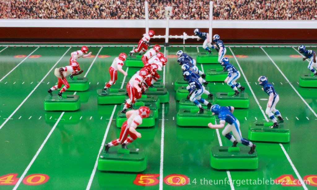 Tudor NFL Chiefs and Rams from 1970