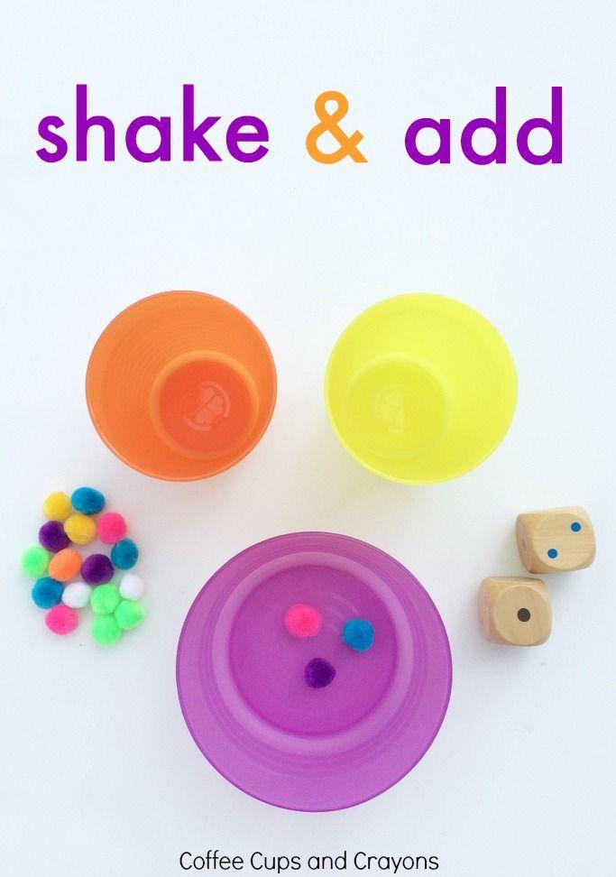 Hands On Math Game Coffee Cups And Crayons Math Activities Preschool Math Games Creative Math