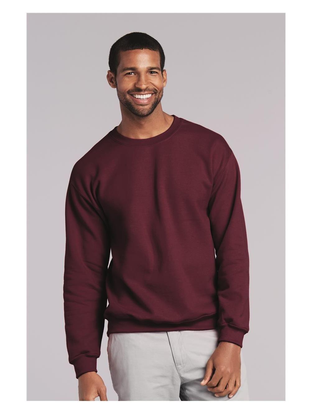 Gildan Gildan New Nib Men Heavy Blend Crewneck Sweatshirt Walmart Com Long Sleeve Tshirt Men Gildan Sweatshirts Crew Neck Sweatshirt [ 1333 x 1000 Pixel ]
