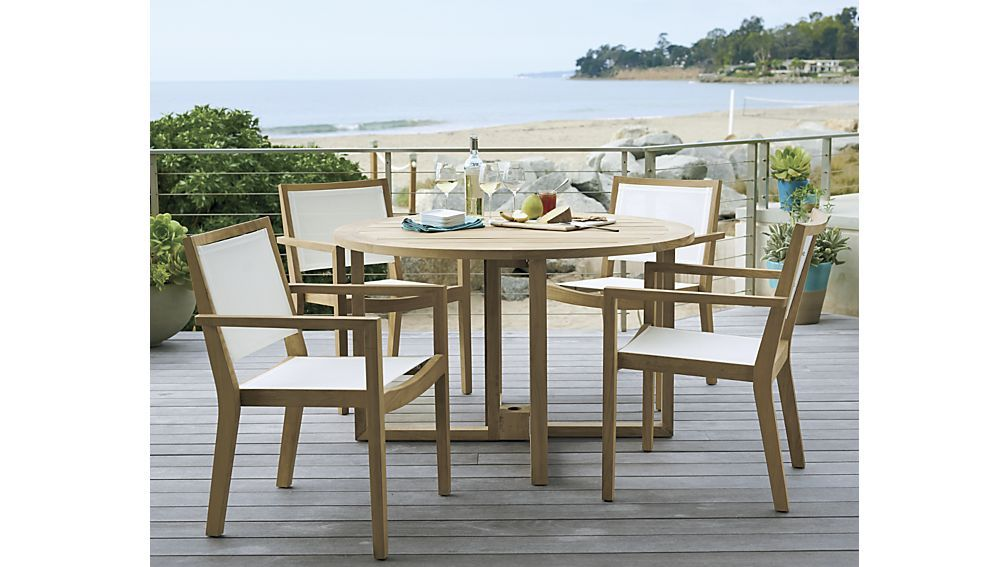 Regatta Round Drop Leaf Table Outdoor Dining Chairs Clearance Patio Furniture Outdoor Accent Table