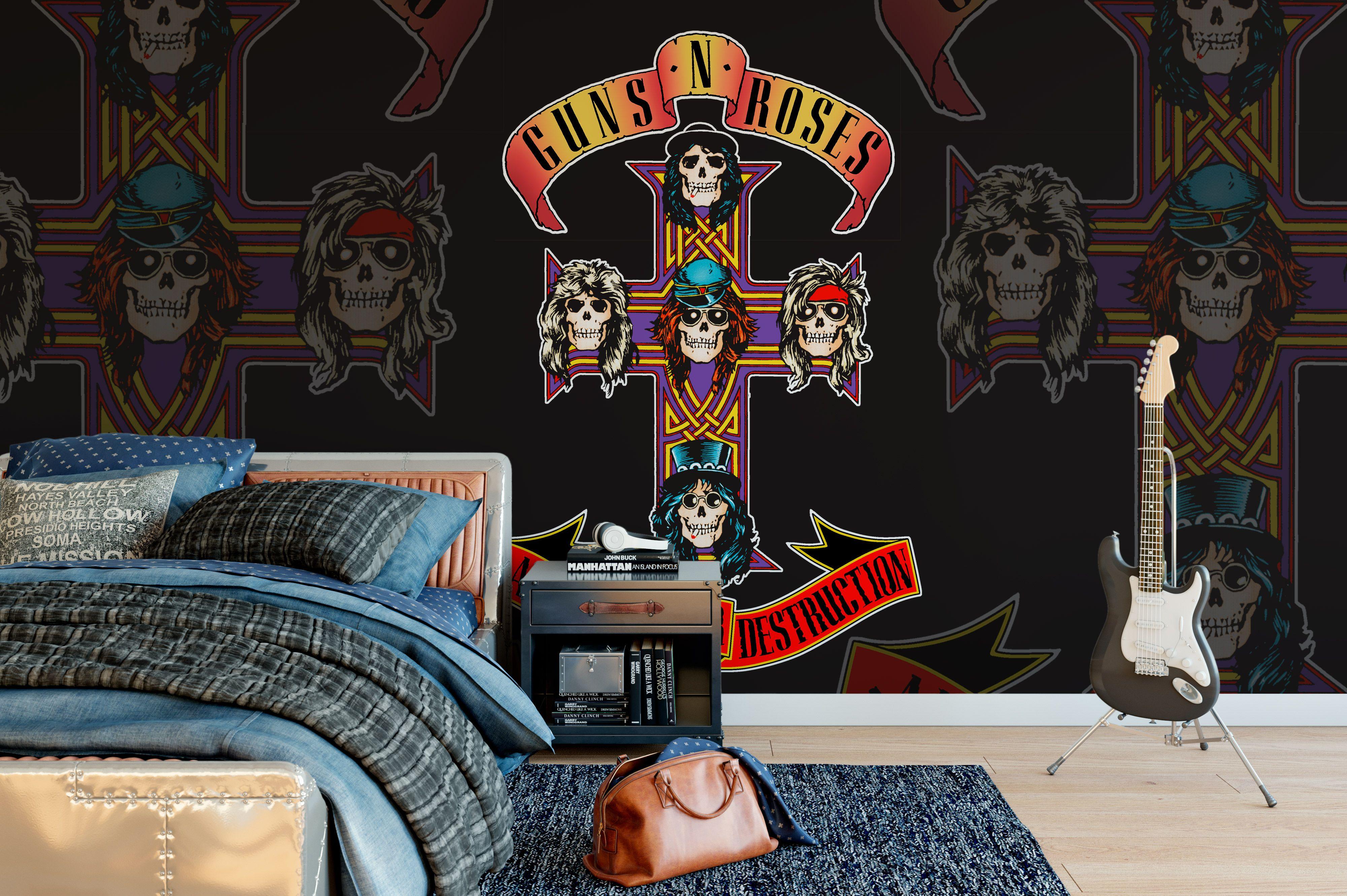 Guns N' Roses Appetite For Destruction Wall Mural Rock