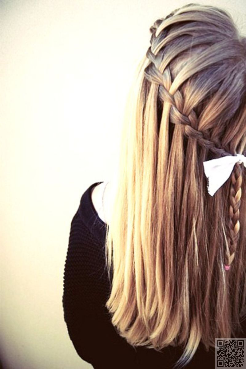 Waterfall Braid Hair Styles Extremely Long Hair Long Hair Styles