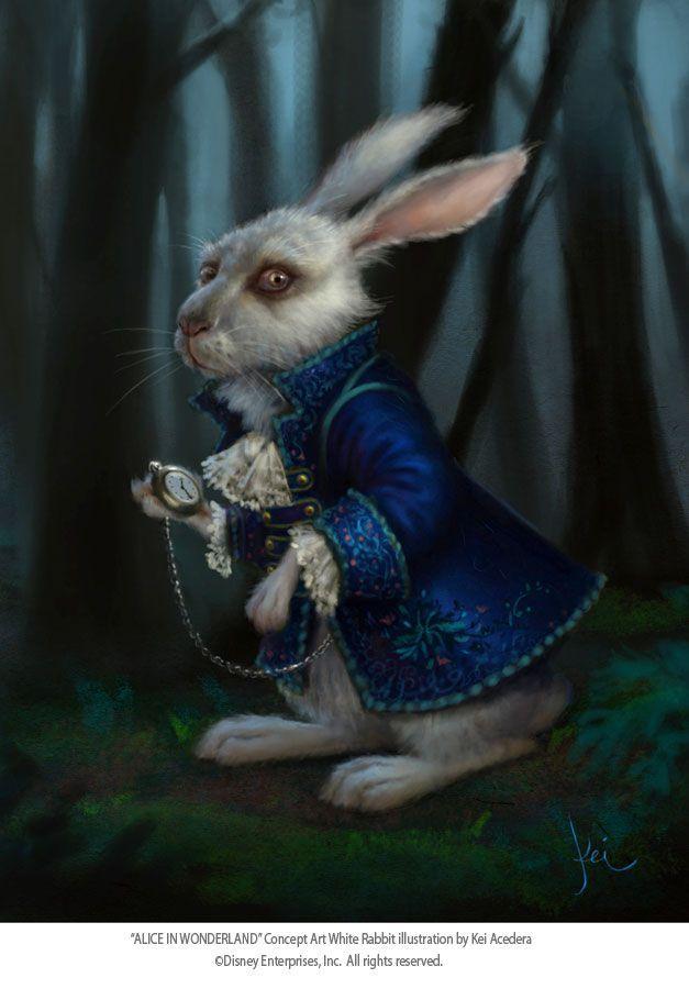Алиса в стране чудес заяц картинки
