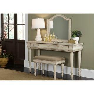 Rustic Traditions Ii White Vanity Desk Bedroom Vanity Set White Vanity Desk Liberty Furniture