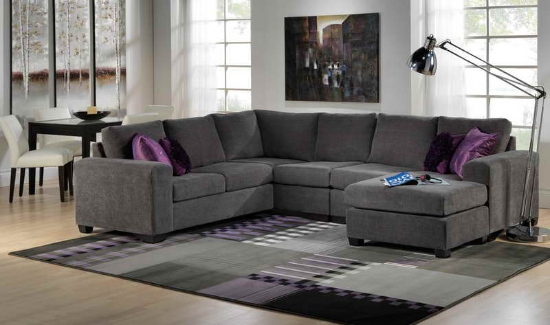 for the main sitting area one side with a back and one as a chaise