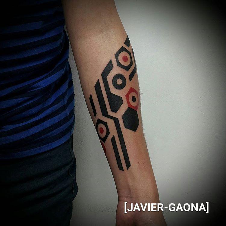 Bye Grandpa Geometric Tattoo Info 55540858 Infiernotattoo2
