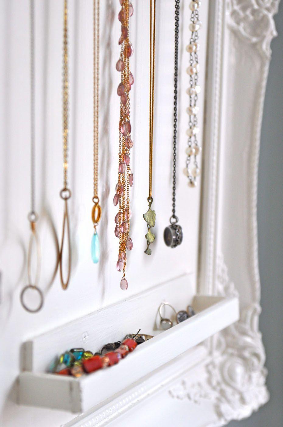 Do it yourself jewelry storage jewelry storage storage ideas diy jewelry organizer solutioingenieria Choice Image