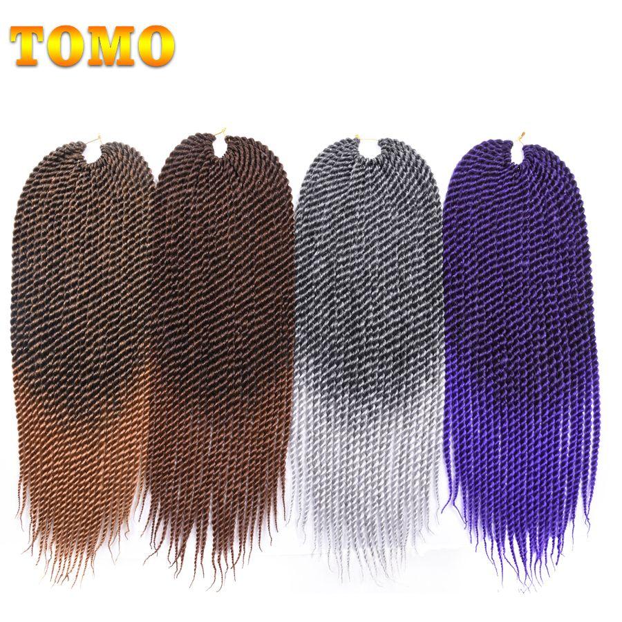 Tomo inch medium ombre crotchet braids roots kanekalon