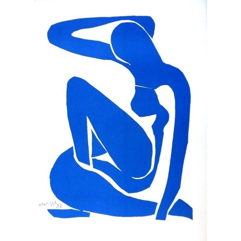 After Henri Matisse - Blue Nude | From a unique collection of nude ...