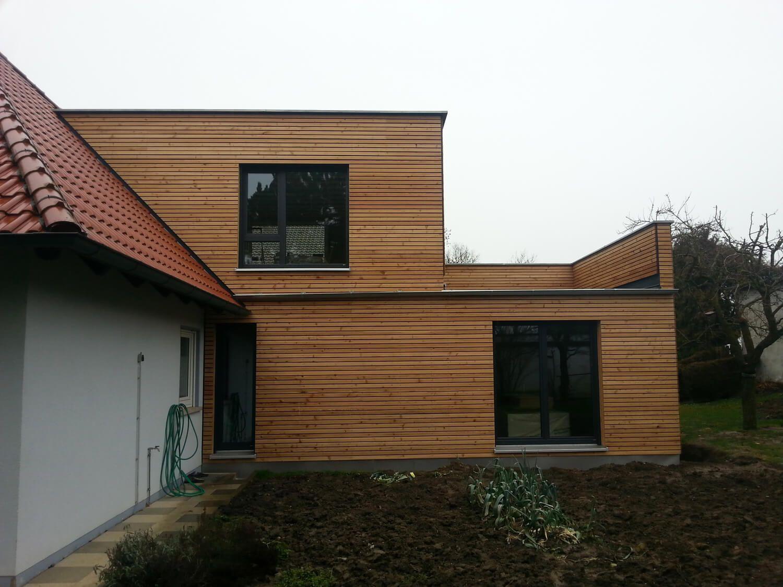 Anbau an einem bestehenden Wohnhaus in Steinsfeld (mit