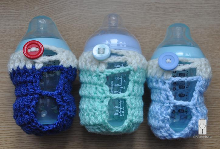 hand crochet 3D FLOWER baby bottle cover tommee tippee dr brown MAM Nuk