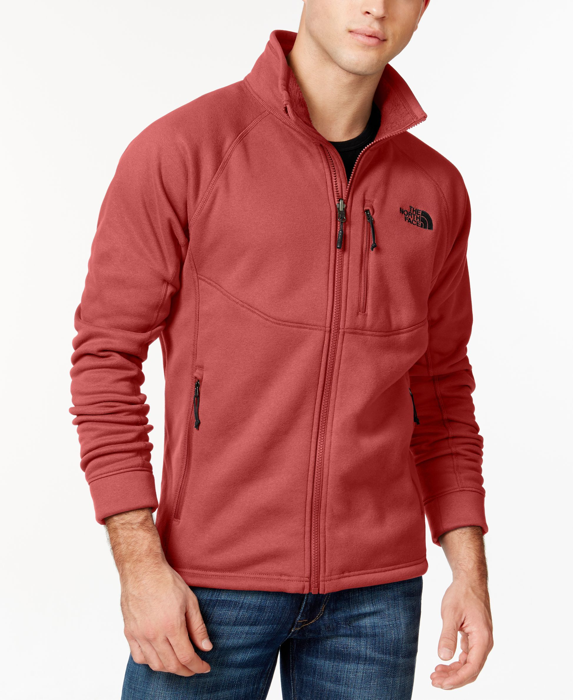 12073011af08 The North Face Timber Full-Zip Fleece Jacket