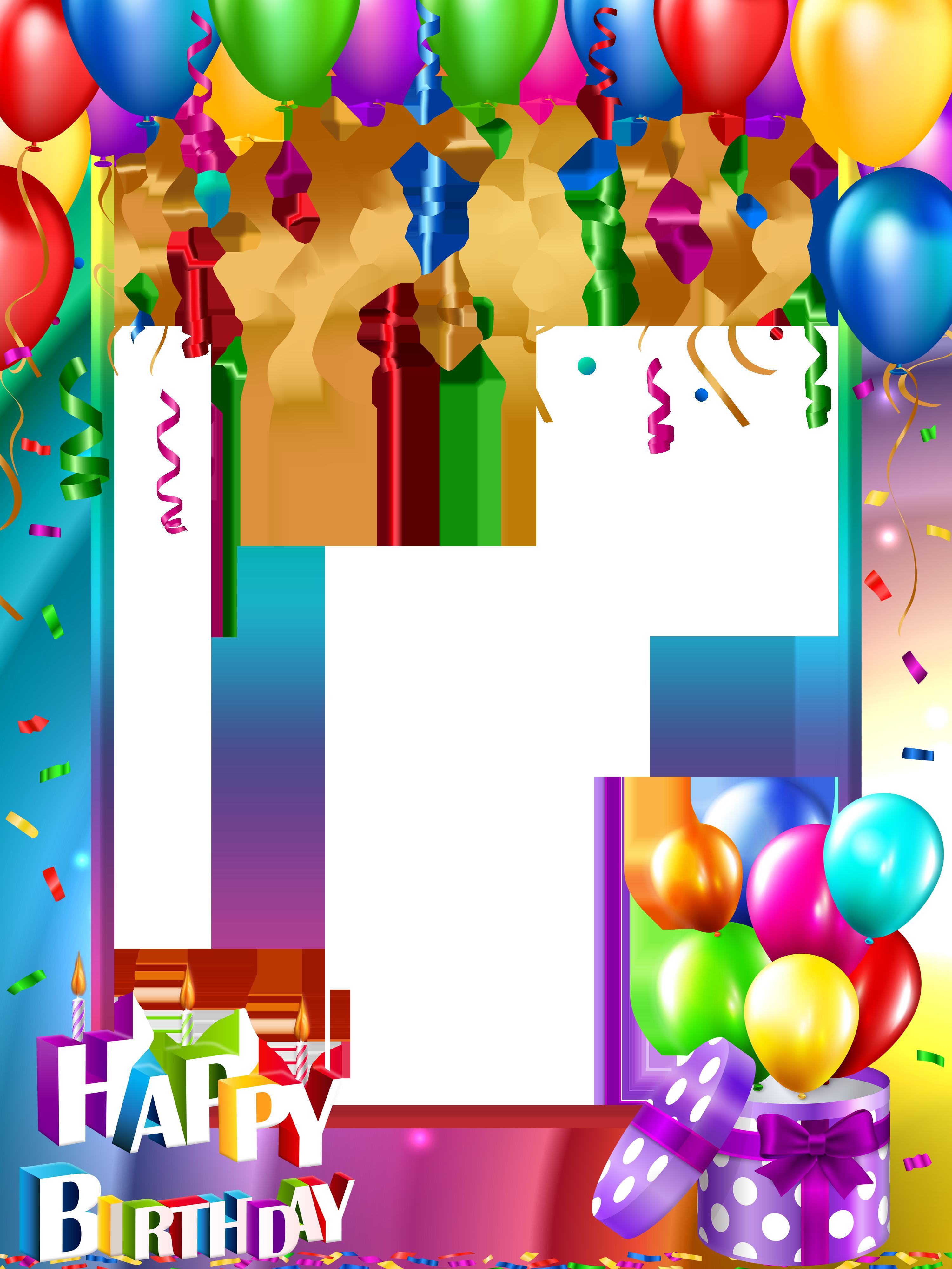 Birthday Background Happy Birthday Png Birthday Template Happy