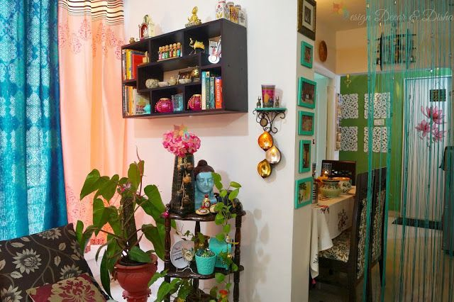 All Indian Home Decor | Design Decor & Disha: Home Tour: Indian Home Home Decor Indian Living room Li #buddhadecor