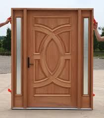 Designer Wood Doors diyar solid wood door with frame Wood Door One Of A Kind Glass Designs And Accents Make Custom From Modern Front Doors To Custom Doors Jeld Wen Custom Wood Exterior Doors Simpson Door Has
