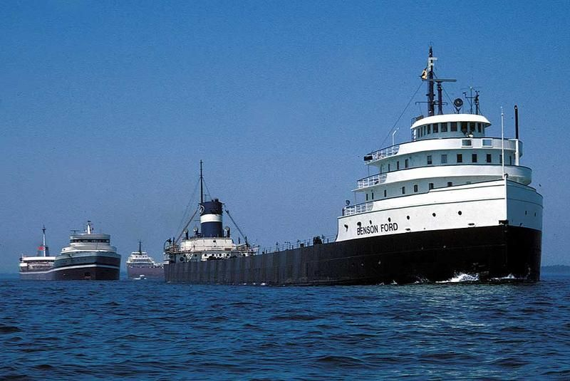 Ford_Ryerson Great lakes ships